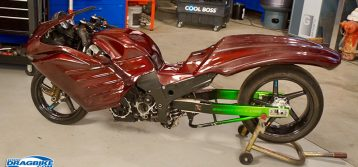 Rickey Gadson's Pro Street Bike to be Featured on Velocity TV's Car Fix