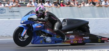 NHRA's Angie Smith Roars into Countdown on DENSO Spark Plugs
