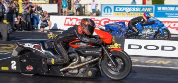 NHRA : Maple Grove Pro Stock Motorcycle Coverage