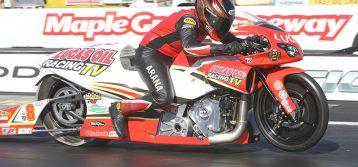 Third-ranked rider Hector Arana Jr. has sights set on St. Louis success