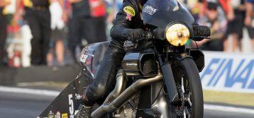 Ellis Returns Aboard Vance & Hines Harley-Davidson