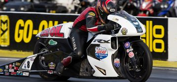Glimpse into a future on an EBR has Lucas Oil rider Hector Arana Jr. very excited