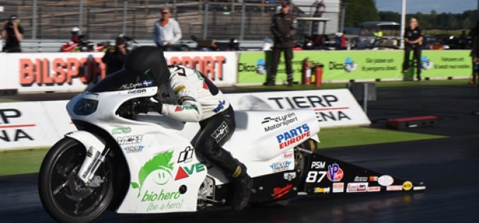 EDRS: Kalle Lyrén Looks Back at Pro Stock Motorcycle Crash