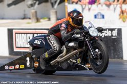 NHRA : Andrew Hines Looking for Four Straight Wins at Four-Wide