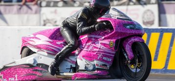 NHRA : Pro Stock Motorcycle Champ Jerry Savoie Relaxed Heading to Carolina Nationals
