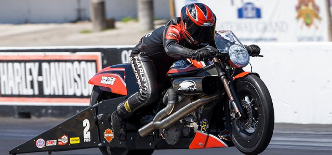 NHRA : Pro Stock Motorcycle Results from Gainesville
