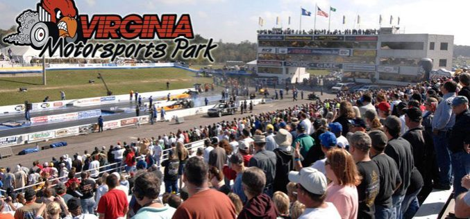 NHRA Partners with Virginia Motorsports Park to Host Virginia Nationals