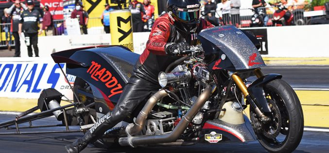 NHRA: Top Fuel Harley Results From Arizona Nationals