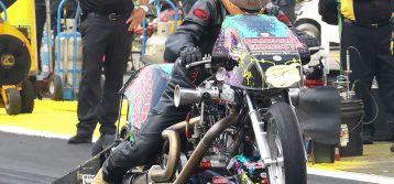 "Dennis ""The Nitro Menace"" Fisher Report from Michigan All Harley Nationals"