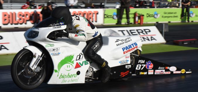 EDRS: Vance & Hines Contingency Partner for Pro Stock Motorcycle
