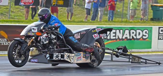 NHRA Nitro Harley: Results from Heartland Nationals