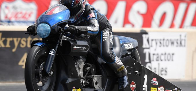 NHRA: Pro Stock Motorcycle Results from Norwalk