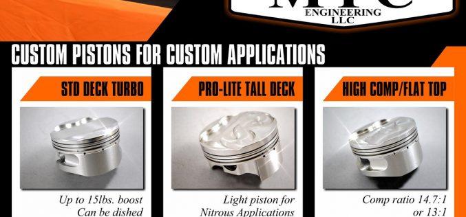 MTC: Custom Pistons for Custom Applications