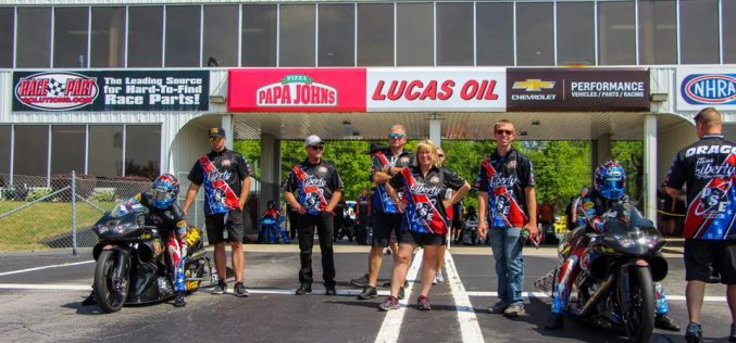 Team Liberty Racing Heads to NHRA Sonoma Nationals