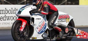 NHRA: Hector Arana Jr Wins Pro Stock Motorcycle at Maple Grove Raceway