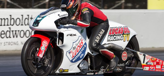 NHRA: Hector Arana Jr Wins Pro Stock Motorcycle at Maple Grove Raceway