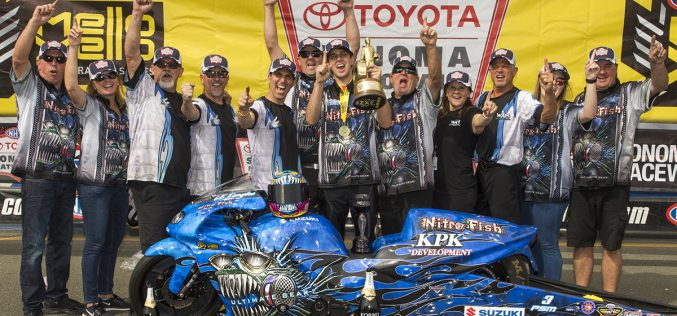 NHRA: Pro Stock Motorcycle at Sonoma