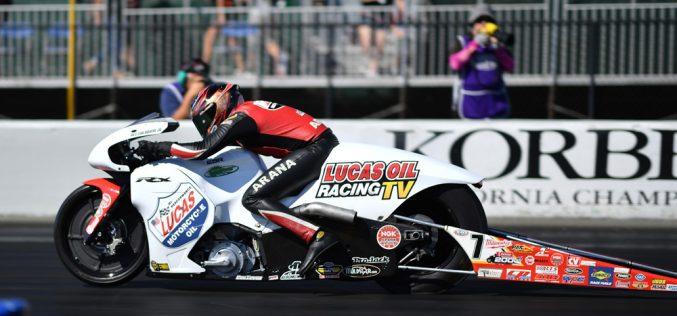 Arana Jr. Sets Track Speed Record at Sonoma Nationals