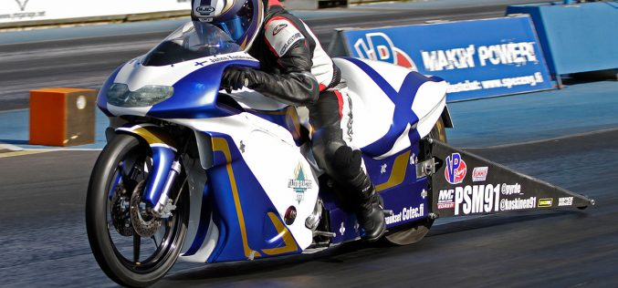 Finnish Cooperation in Pro Stock Motorcycle
