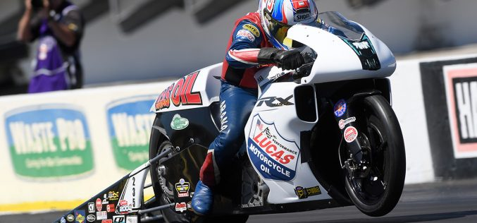 NHRA: Hector Arana Sr. Keeping Head High Heading to Lucas Oil Nationals