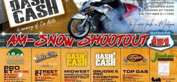 AMSNOW Shootout and Dash For Cash Return to US 131