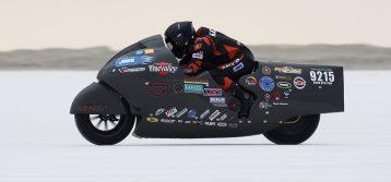 Hiro Koiso Makes History: Fastest sit-on Harley-Davidson at 259 mph