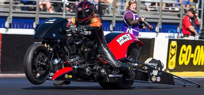 NHRA Lucas Oil Winternationals – Top Fuel Harley Results