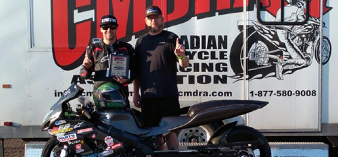 Another win for Barkley at the Badland's Nationals!