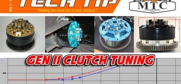 MTC Tech Tip: Gen II Clutch Tuning