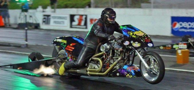 FOR SALE: Dennis Fisher's Nitro Harley Drag Bike