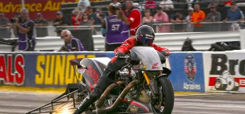 Full Story Behind Tii Tharpe's Top Fuel Harley Championship