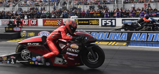 NHRA: Pro Stock Motorcycle from Carolina Nationals