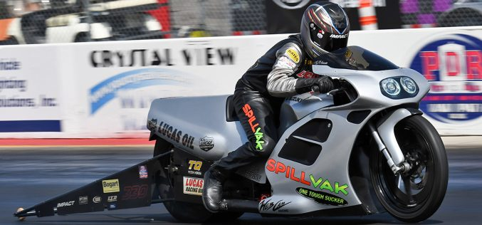 Vanetti Makes Return to Pro Stock Motorcycle Competition