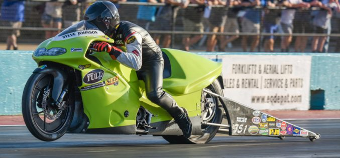 Johnson Has Hopes for NHRA Mello Yello Championship