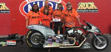Vreeland wins the Race and 2018 AMRA Nitro Funny Bike Championship