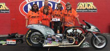 Vreeland wins the Race and 2018 AMRA Nitro Funny Bike Championship