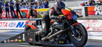 NHRA: Pro Stock Motorcycle at Las Vegas