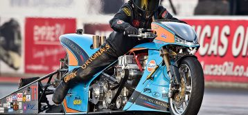 Inside King Racing's Puma-Powered Top Fuel Motorcycle