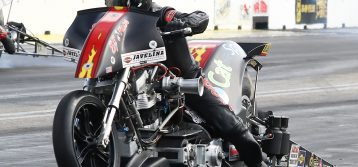 New Title Sponsor on Rickey House's Top Fuel Harley