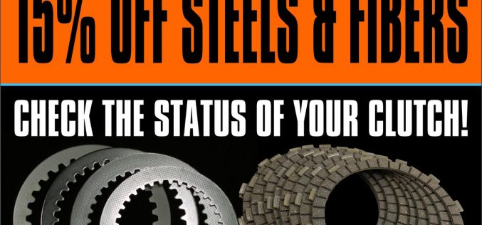 MTC: 15% OFF Steels and Fibers