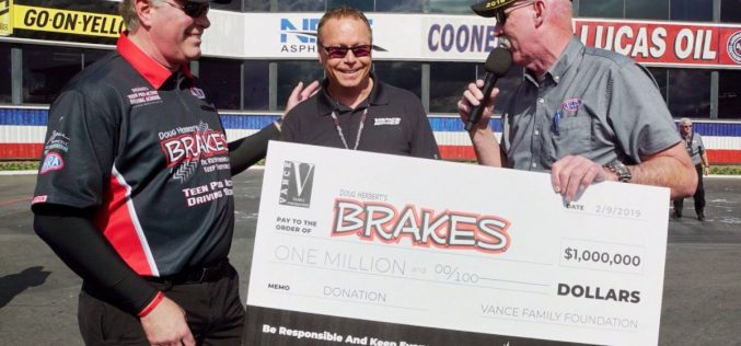 Motorcycle Legend Terry Vance Donates $1 Million to B.R.A.K.E.S Charity