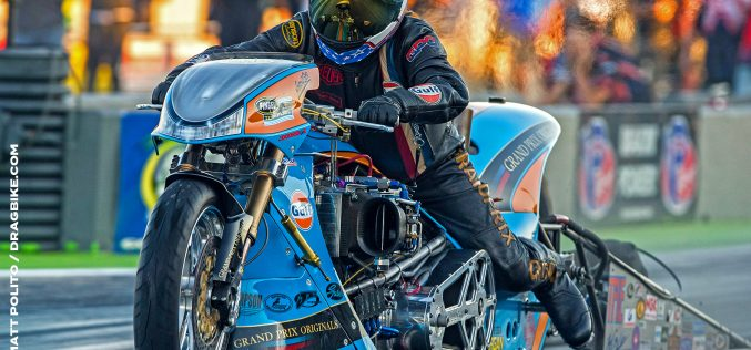 A year in the life of the Gulf Oil Top Fuel Bike Engine