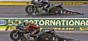 NHRA: Gatornationals Results for PSM and TFH