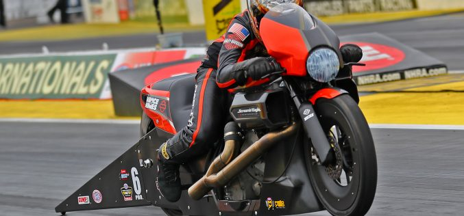 NHRA: Andrew Hines Rolls Into Virginia with Dominant Start