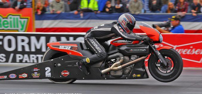 NHRA: Eddie Krawiec Banking on Big Result in Pro Stock Motorcycle