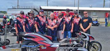 Brown/Bradley Top Fuel Motorcycle Season Opener Report