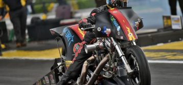 Top Fuel Harley rider Rickey House Reached the Semifinals