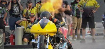 Winning Start to 2019 for Vantine Nitrosports – Top Fuel Motorcycle
