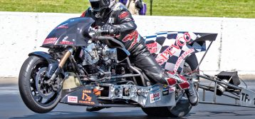 NHRA Heartland Nationals:  Top Fuel Harley