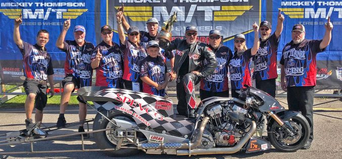 NHRA: Top Fuel Harley Motorcycle Coverage at New England Nationals